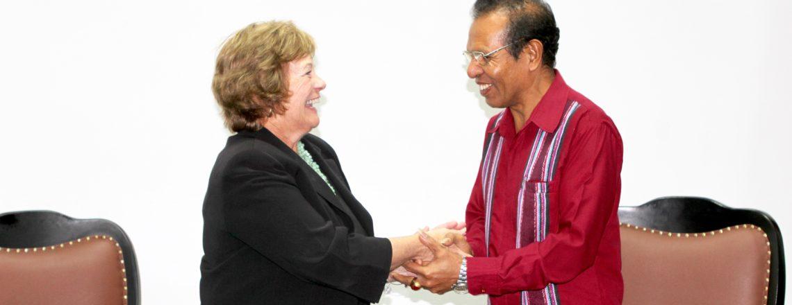 U.S. Ambassador Kathleen Fitzpatrick Meets with Prime Minister Taur Matan Ruak