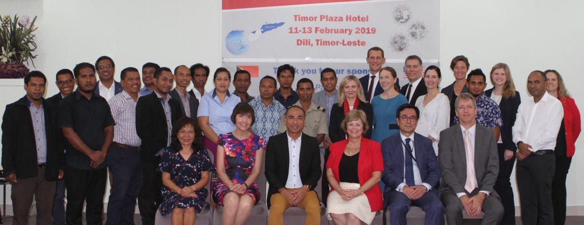 U.S. Department of Energy International Nuclear Safeguards Workshop with Timor-Leste